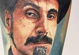 Serj Tankian tattoo by Alexander Romashev