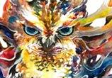 Owl The Magician by Art Jongkie