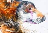 Anxious love painting by Art Jongkie