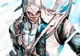 Connor watercolor by Jongkie Art