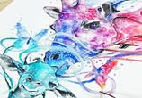 giraffes-love-watercolor-by-art-jongkie