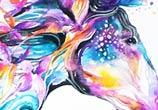 Horse watercolor by Jongkie Art