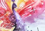 Peacock painting by Art Jongkie