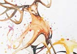 Surfing painting by Art Jongkie
