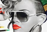 Drawing portrait of Rihanna by Ayman Arts
