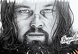 The Revenant pencil drawing by Bajan Art