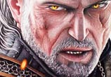 The Witcher drawing by Bajan Art
