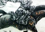 Warrior drawing by Bajan Art, Poland
