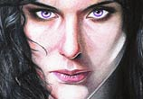 Wild Hunt Yennefer pencil drawing by Bajan Art