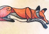 Fox tattoo by Bambi Tattoo
