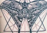 Geometrical insect tattoo by Bambi Tattoo