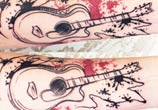 Guitar tattoo by Bambi Tattoo