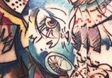 Owl tattoo by Bambi Tattoo
