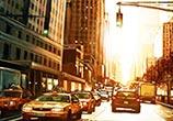 A New York City Scene painting by Ben Jeffery