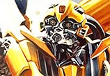 BumbleBee painting by Ben Jeffery