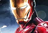 Ironman oil painting by Ben Jeffery