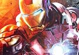 Ironman oil painting by Ben Jeffery
