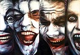 Jokers oil painting by Ben Jeffery