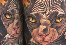 Animal tattoo by Benjamin Laukis