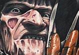 Portrait tattoo of Freddy Krueger by Benjamin Laukis