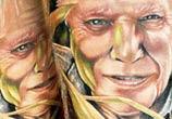 Portrait tattoo by Benjamin Laukis
