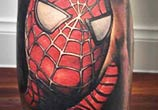 Spiderma tattoo by Benjamin Laukis