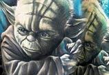 Star Wars tattoo by Benjamin Laukis
