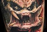 Predator tattoo by Benjamin Laukis