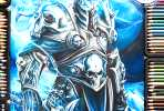 Lich King color drawing by Blondynki Tez Graja