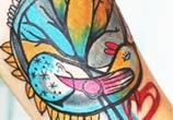 Birds tattoo by Bumpkin Tattoo
