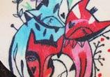 Fox love tattoo by Bumpkin Tattoo