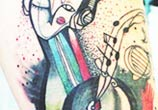My Music tattoo by Bumpkin Tattoo