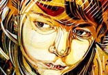 Abstract child portrait by C215
