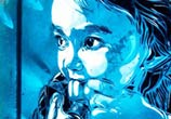 Abstract Ivry child portrait by C215