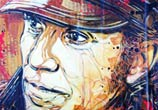 Portrait of the French artist Jef Aérosol by C215