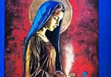 Magnificat Madone streetart by C215