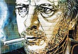 Abstract Mon HML portrait by C215