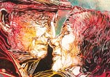 Old Love streetart by C215