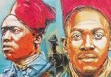 Senegal soldiers by C215