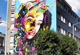 Vitry sur Seine streetart by C215