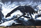 Dragon life streetart by Dan DANK Kitchener