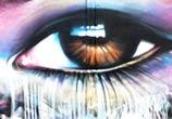 eye graffiti by Dan DANK Kitchener