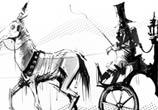 Gun carriage marker drawing by Dan DANK Kitchener