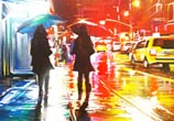 Hood NYC mixedmedia by Dan DANK Kitchener