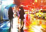 Hood NYC mixedmedia by Dan DANK Kitchener