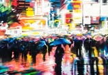 Neon city detail streetart by Dan DANK Kitchener