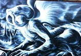 Night Moths streetart by Dan DANK Kitchener