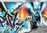 Spirit of Slaughter graffiti by Dan DANK Kitchener