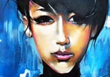 Woman portrait by Dan DANK Kitchener
