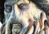 Davy Jones drawing by Dino Tomic